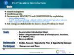conversation introduction