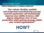 death of a sales cycle