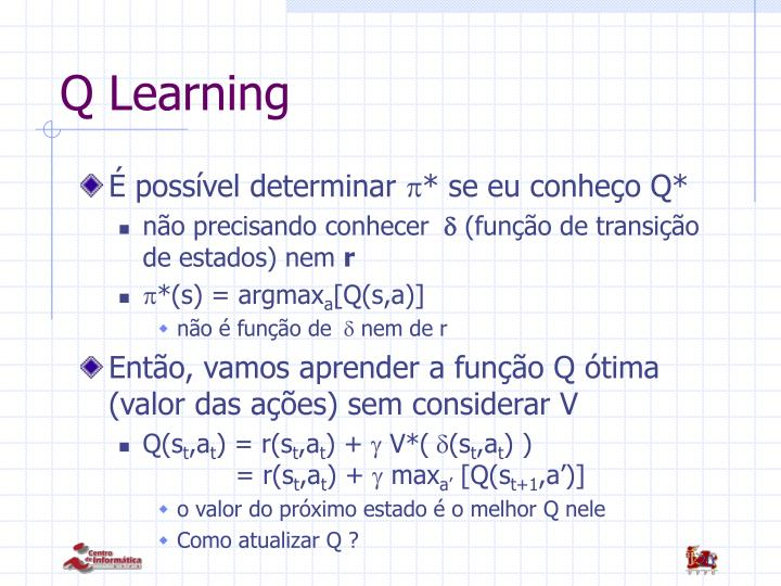 Q Learning