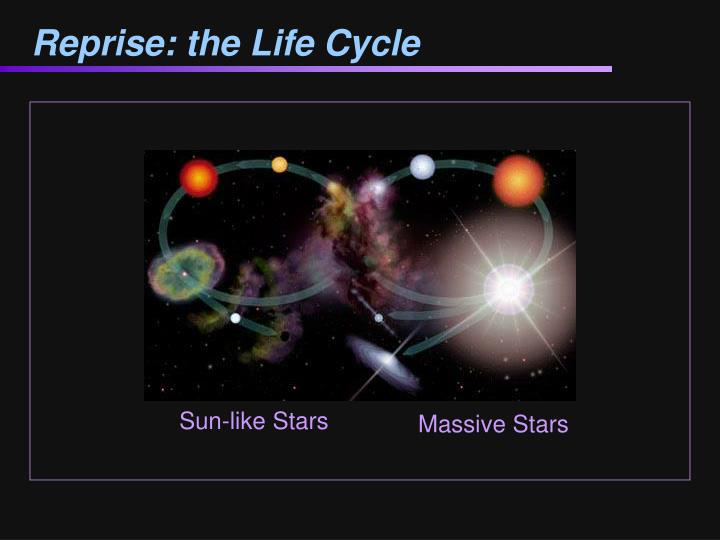 Reprise: the Life Cycle
