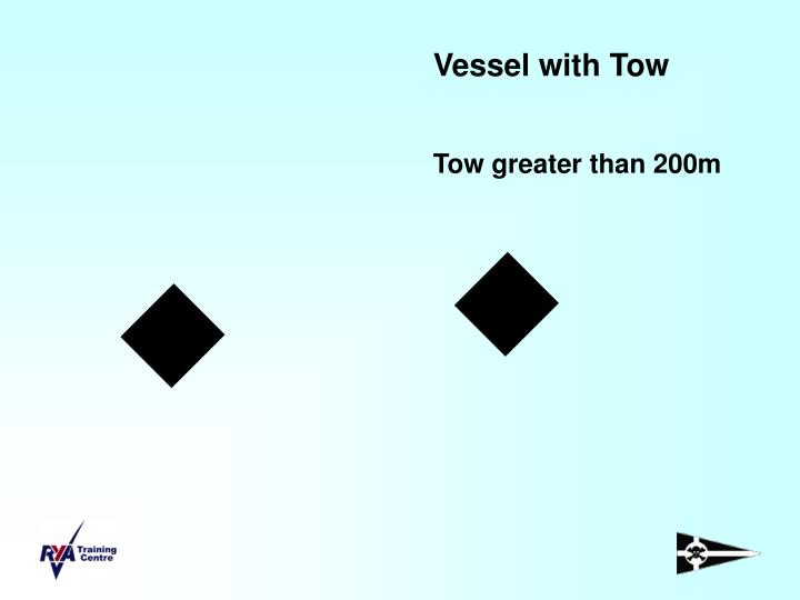 Vessel with Tow