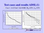 test cases and results adsl 1