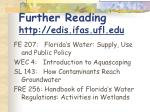 further reading http edis ifas ufl edu