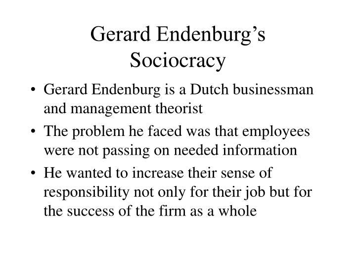 Gerard Endenburg's
