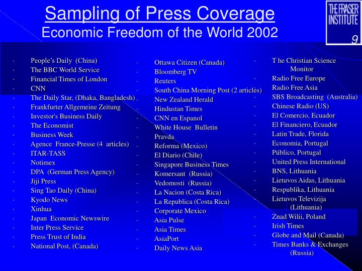 Sampling of Press Coverage