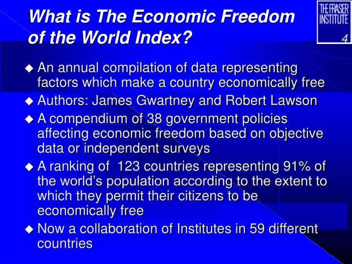 What is The Economic Freedom of the World Index?