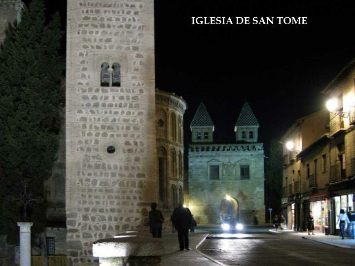IGLESIA DE SAN TOME