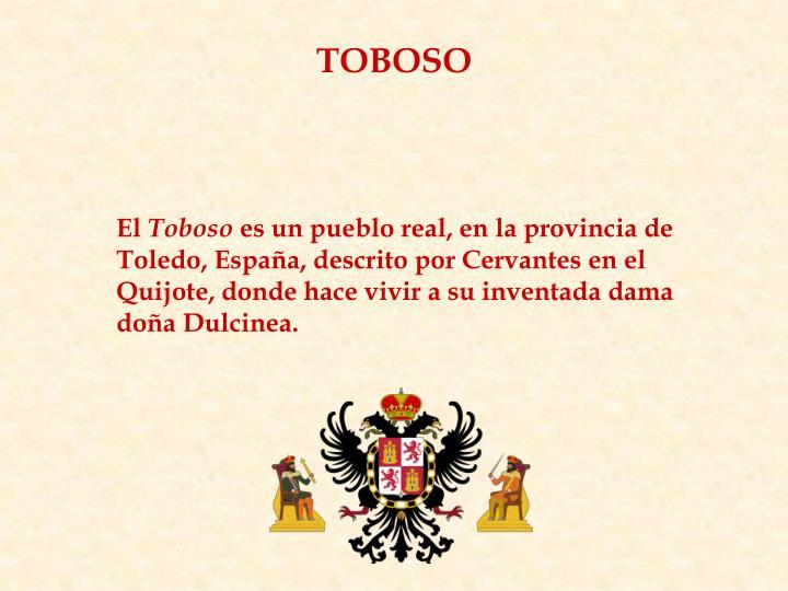 TOBOSO