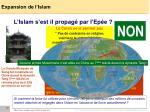 expansion de l islam