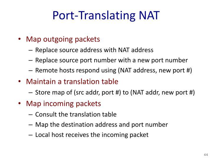 Port-Translating NAT