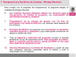 para cumplir con el prop sito de transparencia el programa adopta 10 medidas de blindaje electoral1