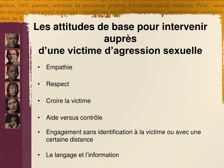 Consquences Agressions sexuelles INSPQ