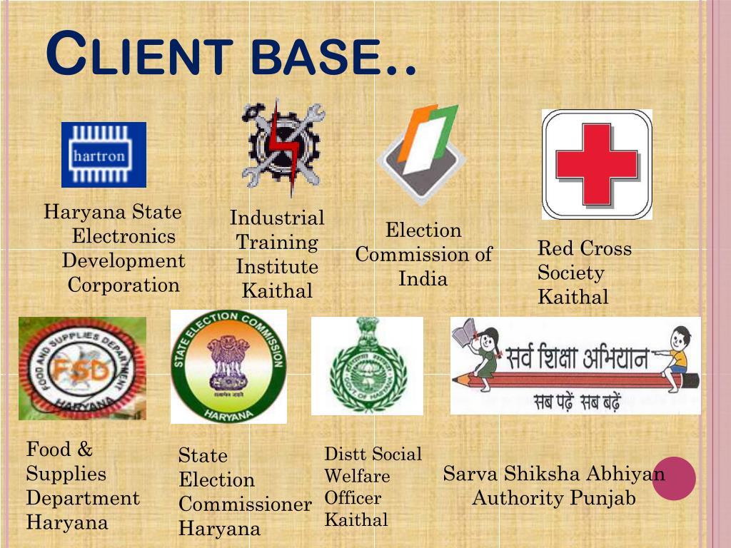 Client base..
