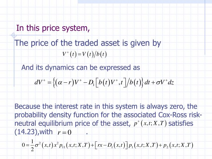 In this price system,
