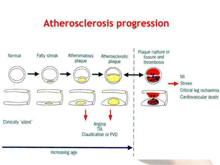 Atherosclerosis progression