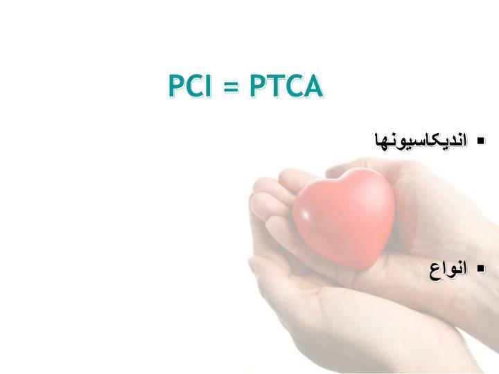 PCI = PTCA