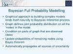 bayesian full probability modelling