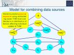 model for combining data sources5
