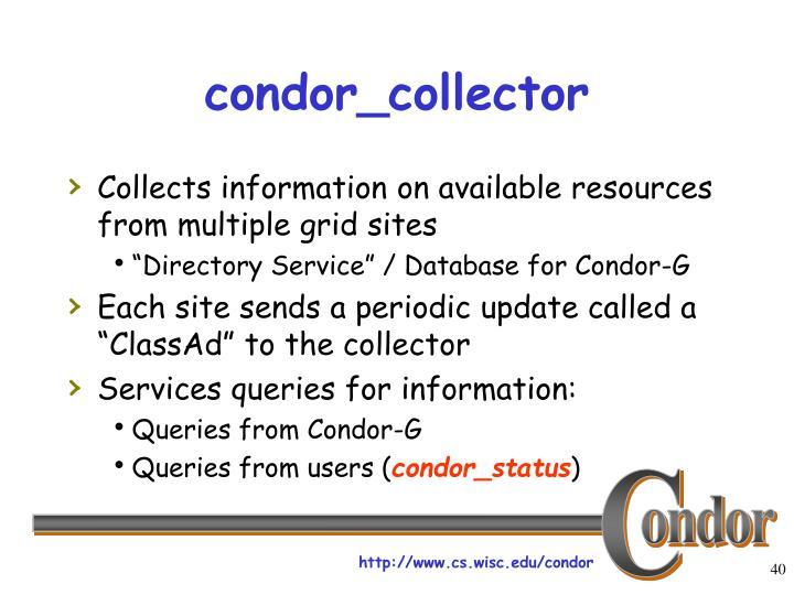 condor_collector