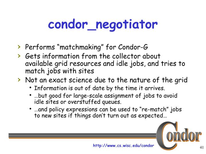 condor_negotiator