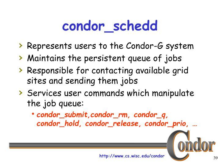 condor_schedd