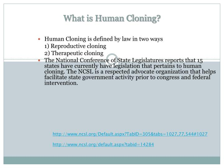 What is Human Cloning?