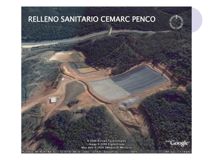 RELLENO SANITARIO CEMARC PENCO