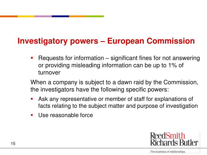Investigatory powers – European Commission