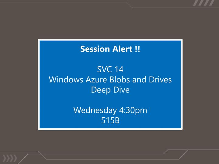 Session Alert !!
