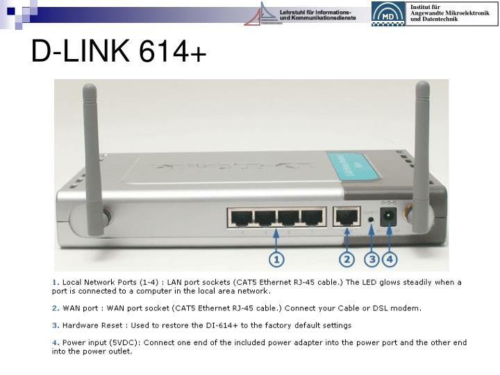 D-LINK 614+