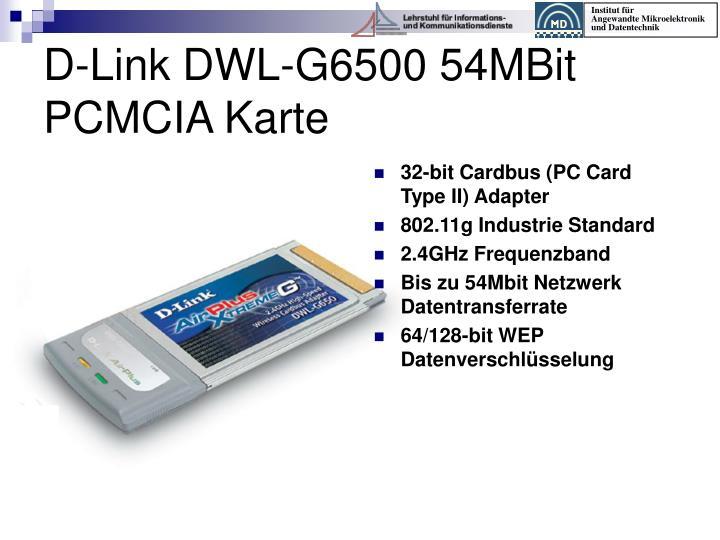 32-bit Cardbus (PC Card Type II) Adapter