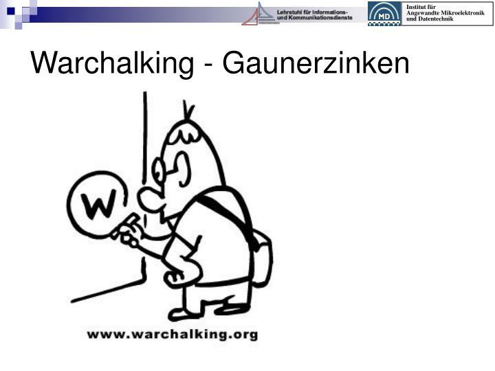 Warchalking - Gaunerzinken