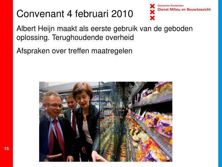 Convenant 4 februari 2010