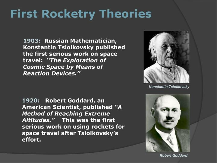 First Rocketry Theories