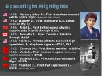 spaceflight highlights1