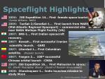 spaceflight highlights10