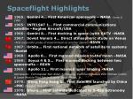 spaceflight highlights2