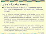 la sanction des erreurs1