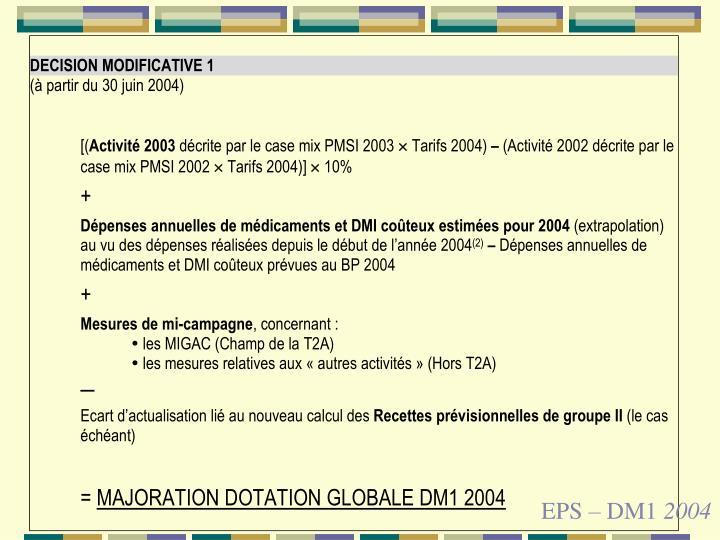 EPS – DM1