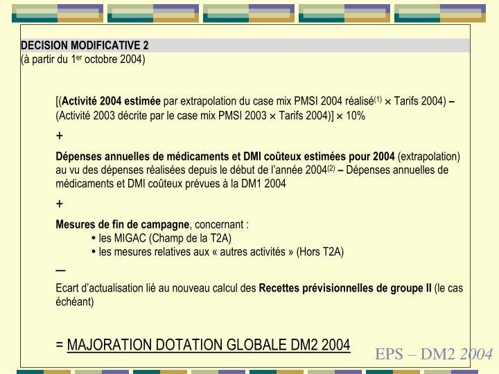 EPS – DM2
