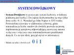 system dw jkowy