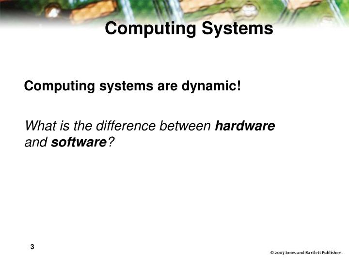 Computing systems