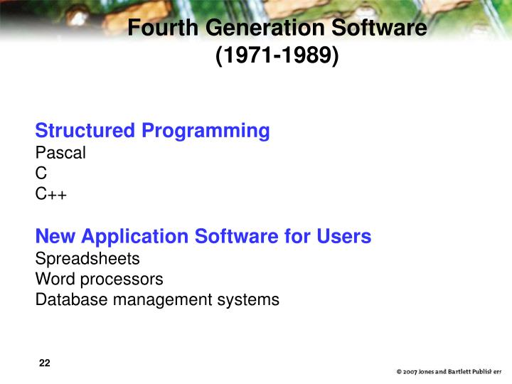 Fourth Generation Software