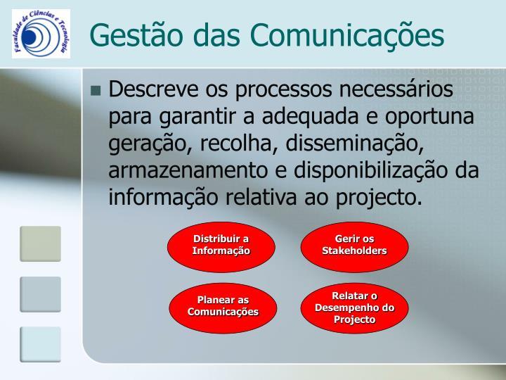 Planear as Comunicações