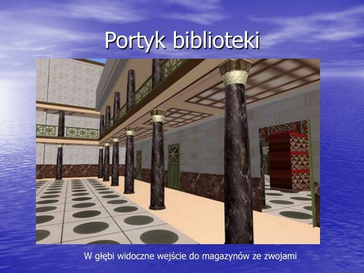Portyk biblioteki