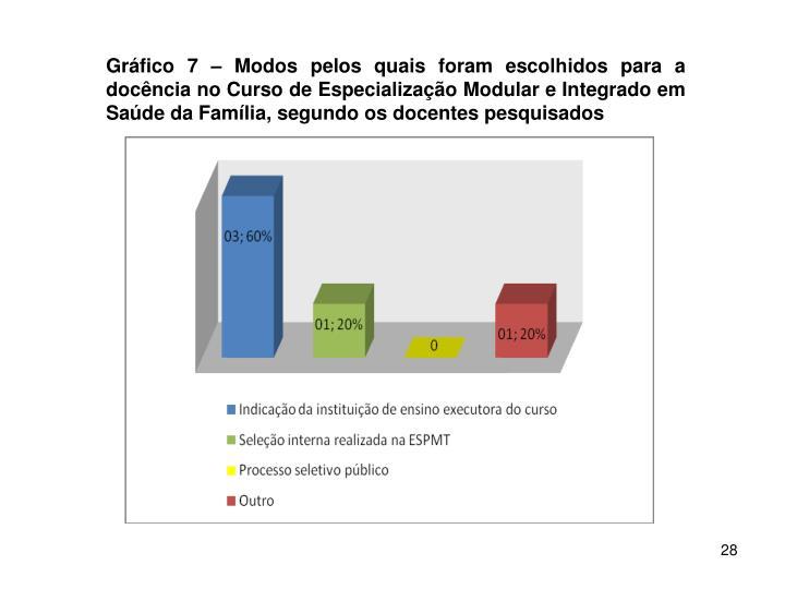 Gráfico 7 –