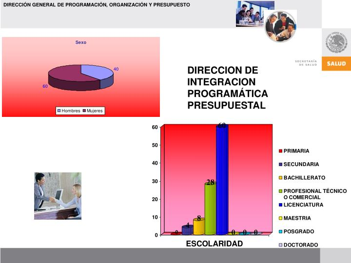 DIRECCION DE INTEGRACION PROGRAMÁTICA PRESUPUESTAL