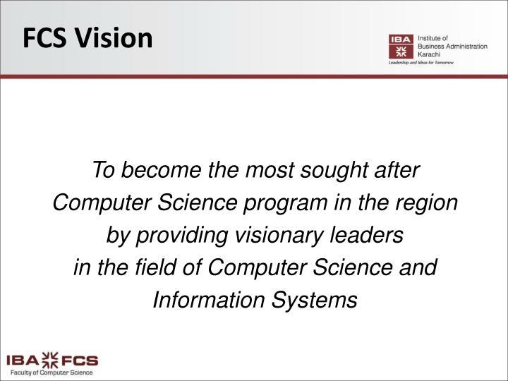 FCS Vision