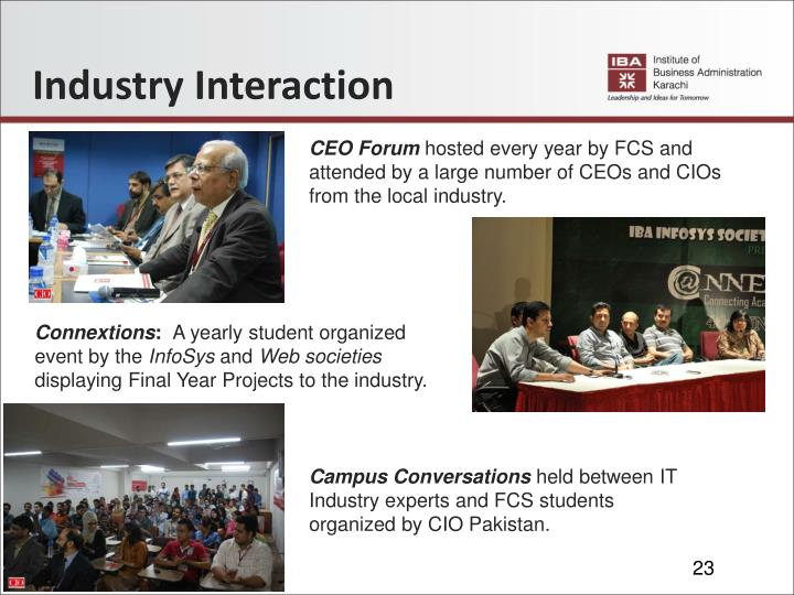 Industry Interaction