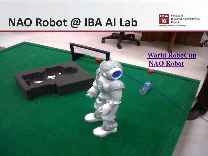 NAO Robot @ IBA AI Lab
